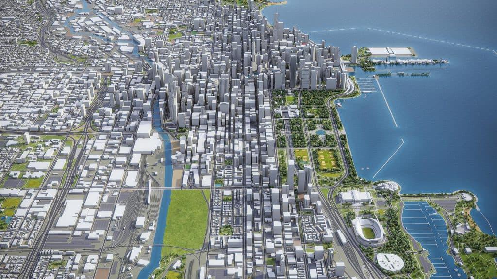 chicago rendering